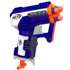 Lançador Nerf N-Strike Elite Triad A3845 Hasbro