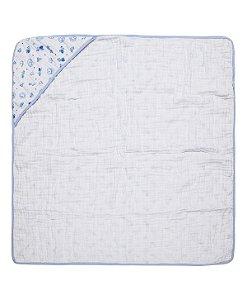 Toalha Soft Com Capuz Carrinhos R.70085 Incomfral