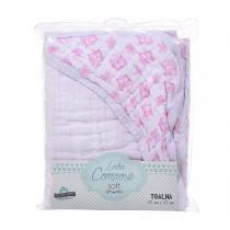 Toalha Soft Com Capuz Oncinha R.71570 Incomfral