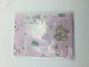Fronha Para Travesseiro de Bebê Estampada Floresta R.80053 Incomfral