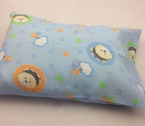 Fronha Para Travesseiro de Bebê Estampada Aviador R.80039 Incomfral