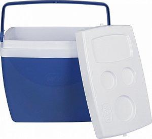 Caixa Térmica 34 Litros Azul R.25108161 Mor
