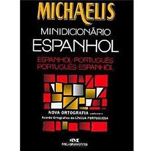 Mini Dicionário Espanhol E Português Michaelis  R.1111982 Melhoramentos