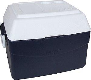 Caixa Térmica Glacial 55 Litros Azul R.25108141 Mor