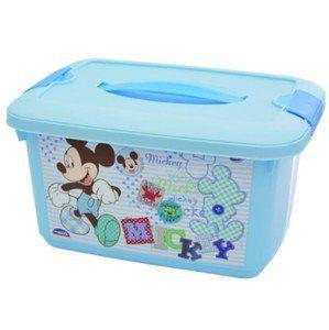 Caixa Organizadora Mickey Baby 5,2 Litros R.6910 Plasutil
