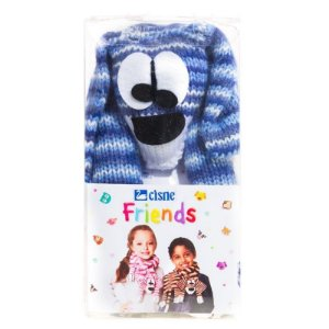 Cisne Friends Cachecol Cor 002 Azul R.771PDOG-00002 Coats Corrente