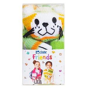Cisne Friends Cachecol Cor 003 Colorido R.771PCAT-00003 Coats Corrente