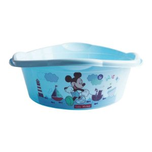 Bacia Infantil Mickey Baby 17 Litros 6906 Plasutil