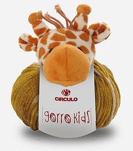 Lã Gorro Kids Girafa Cor 8601 100 Gramas R.315001/8601 Circulo
