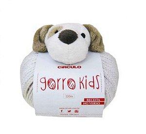Lã Gorro Kids Cachorro Cor 8600 100 Gramas R.315001/8600  Circulo