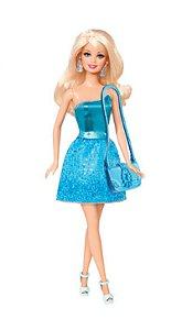 Barbie Figura Basica Glitz R.T7580 Mattel T7580