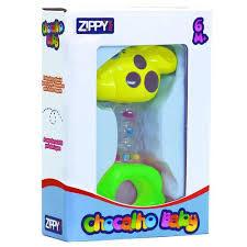 Chocalho Baby Girafinha FT35711A Zippy Toys