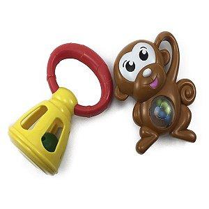 kit Chocalho Baby Macaquinho Zippy Toys 35712B