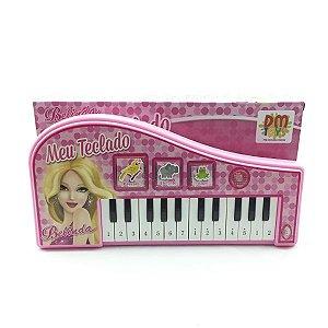 Teclado Com Luz, Música E Som DM Toys DMT4382