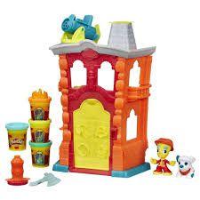 Play Doh Town Quartel De Bombeiros R.B3415 Hasbro