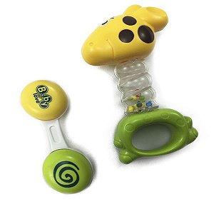 kit Chocalho Baby Girafinha Zippy Toys 35712C