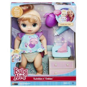Boneca Baby Alive Fraldinha Mágica Loira R.B6051 Hasbro