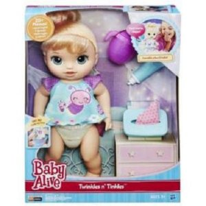 Boneca Baby Alive Fraldinha Mágica Loira R.C2700 Hasbro