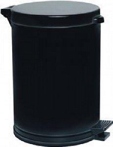 Lixeira Com Pedal 10,5 Litros Preta Viel 3576