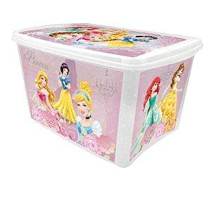 Caixa Organizadora Decorada Princesas 18,7L R.4408 Plasutil