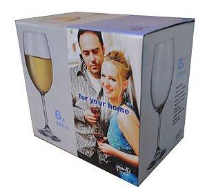 Taça Vinho Branco 250ml Bohemia For You Home FH030/40415/250