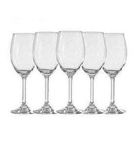 Jogo de Taças Vinho Branco 250ml Bohemia For You Home