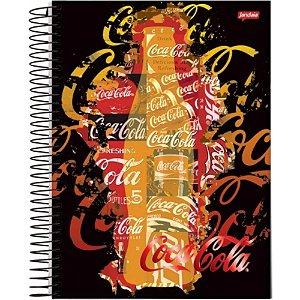 Caderno Universitário Coca Cola Lite 10x1 200 Folhas Jandaia 48174