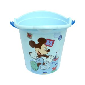 Balde Infantil Mickey Baby 8 Litros 6905 Plasutil