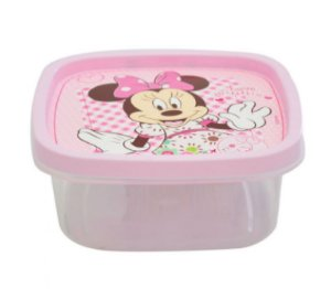 Pote Quadrado 580ML Minnie Baby R.6936 Plasutil