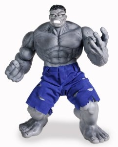 Boneco Hulk Cinza Marvel R.476 Mimo