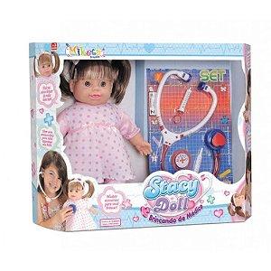 Boneca Stacy Doll Brincando de Médico Miketa 351