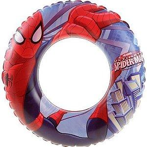 Bóia Circular Marvel Homem Aranha 56cm 98003 Bestway