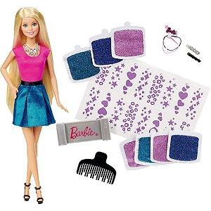 Barbie Glitter no Cabelo Mattel CLG18
