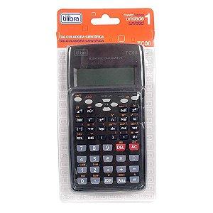 Calculadora Ciêntifica TC 08 Preta TIlibra 210889