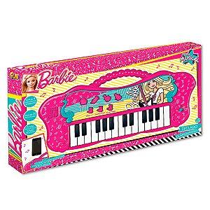 Teclado Fabuloso Barbie Com Função MP3 8007-1 Fun