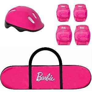 Skate com Acessórios Barbie 7619 Fun
