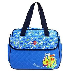 Bolsa Maternidade Tip Top Azul TTS12002U12 Santino