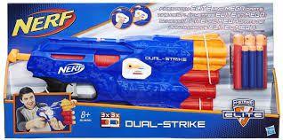Lançador Nerf Elite Dual B4620 Hasbro