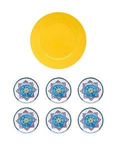 Conjunto Para Bolo Harmony 7 Pçs REF. CM60-9405 Oxford