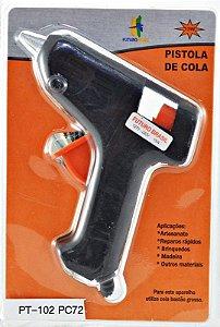 Pistola Para Cola Quente Bivolt 15w Bastão Fina R.PT102 Futuro Brasil