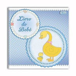 Livro do Bebe Menino Com 34 Folhas R.12421 Tilibra