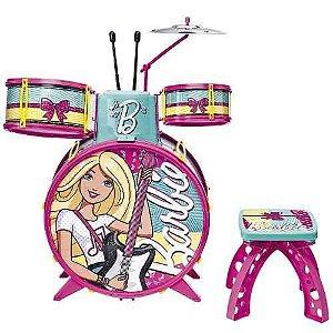 Bateria Infantil Barbie Fabulosa 7293-1 Fun