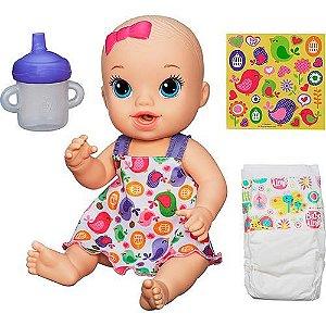 Boneca Baby Alive Hora do Xixi Loira A9290 Hasbro
