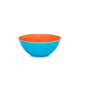 Tigela Cereal Bicolor 600ml Azul e Laranja R. A05D-0264 Oxford