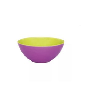 Tigela Cereal Bicolor 600ml Violeta e Verde R. A05D-0265 Oxford