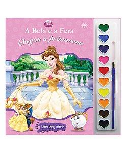 Livro Para Colorir Princesa A Bela e a Fera DCL