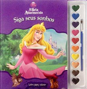 Livro Para Colorir Princesa A Bela Adormecida DCL