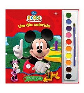 Livro Para Colorir A Casa Do Mickey Mouse DCL