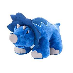 Pelucia Dino Thunder Stompers Azul R.BR358 Multikids