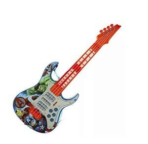 Guitarra Infantil Eletronica Os Vingadores R.30557 Toyng